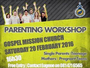 Teenage Parenting workshop